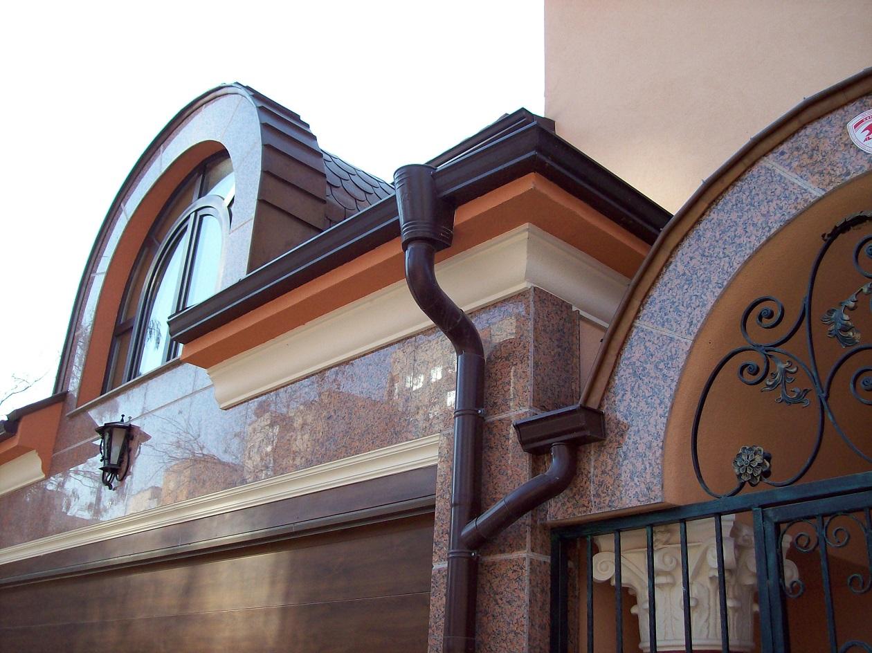 Система за водоотвеждане на покриви и аксесоари към тях