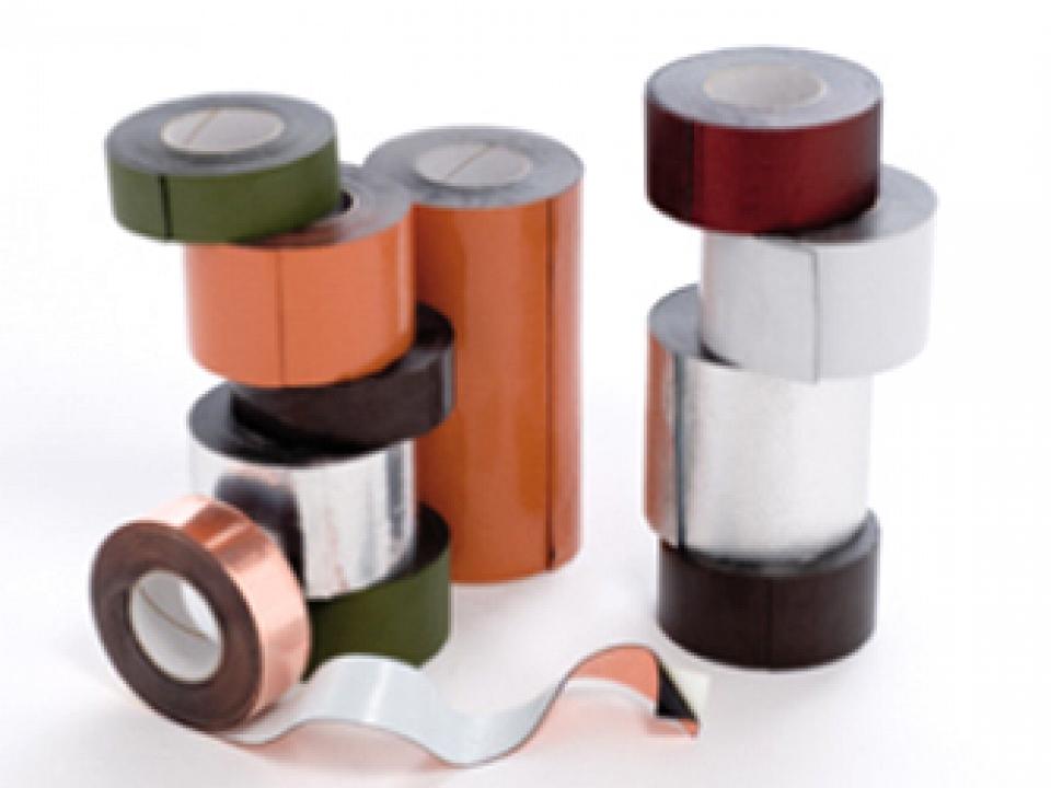 Ekobit самозалепващи се ленти с метално покритие