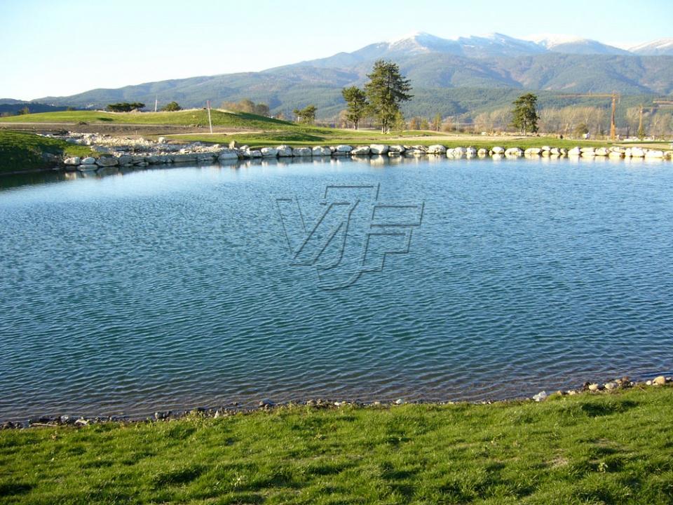 Изкуствено езеро, гр. Разлог