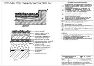 Система за екстензивен зелен покрив