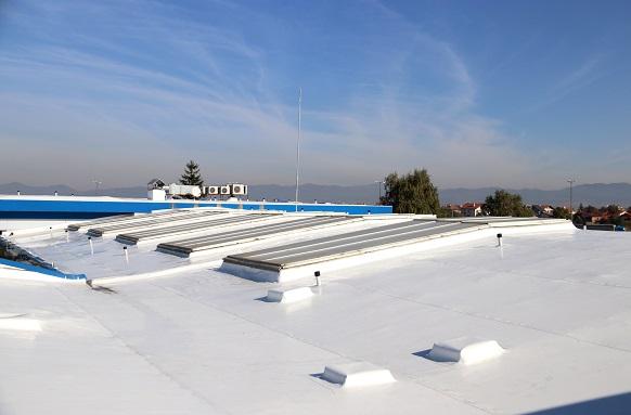 Pемонт на покривна хидроизолация на сграда на Примекс в София