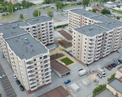 Roofing and traffic zones solutions in Elite Park residential complex