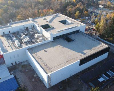 Хидроизолационни дейности при разширението на завода за автомобилни сензори и чипове на Мелексис