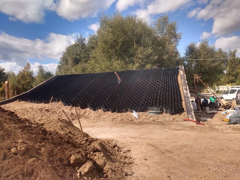 Изграждане на озеленен скатен покрив, София
