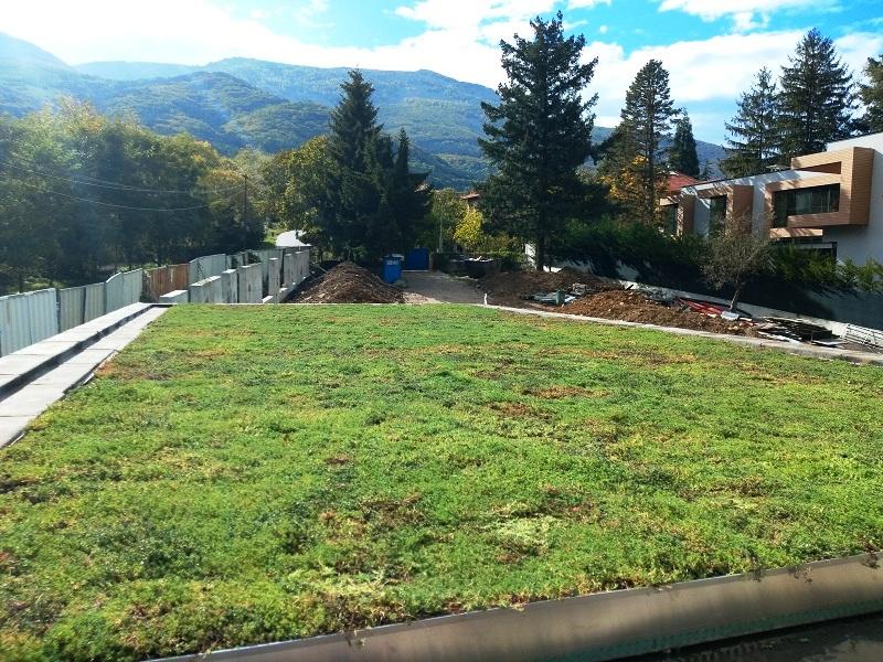 Система за екстензвиен зелен покрив GreenSky, Zoom Studio