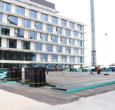Покрив на спортна зала Левски София – изпитани във времето продукти и решения за зелен покрив и трафик зони