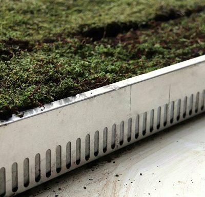New series of aluminium garden edging profiles