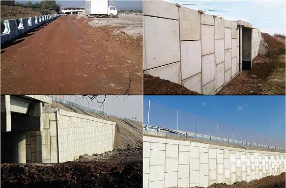 Aрмонасипни конструкции за пътната инфраструктура с решения от ВИ ДЖИ ЕФ