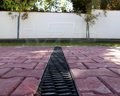 Drainage channels ANRIN – the aesthetic detail for every car park area