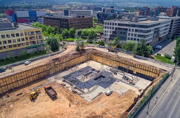 Хидроизолация в основи на сграда в Бизнес парк София
