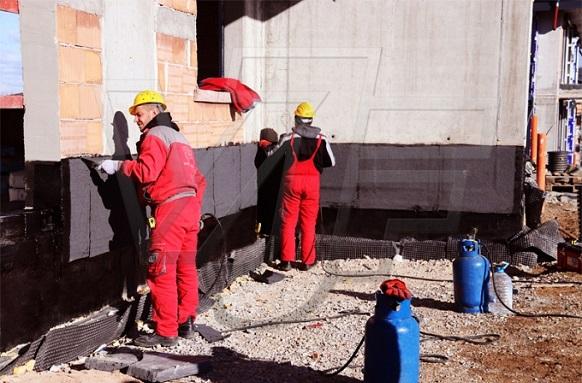 Хидроизолационни дейности от ВИ ДЖИ ЕФ Инженеринг в Резиденшъл Парк София