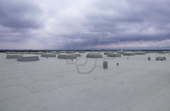 Покривни изолационни дейности на складово-логистична база в с. Равно поле