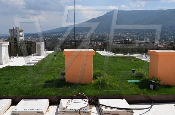 Системи за покривно озеленяване от ВИ ДЖИ ЕФ в Горна Баня