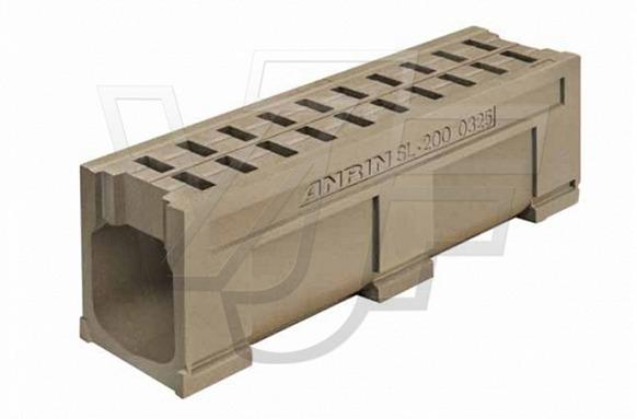 SOLID BLOCK – система за линейно отводняване на зони с тежко натоварване