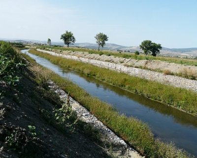 Successful river bank protection to Blato and Belica with VJF's materials
