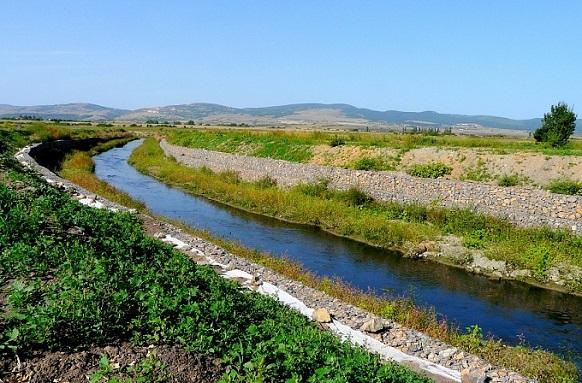 Успешно брегоукрепване на реките Блато и Белица с материали на ВИ ДЖИ ЕФ