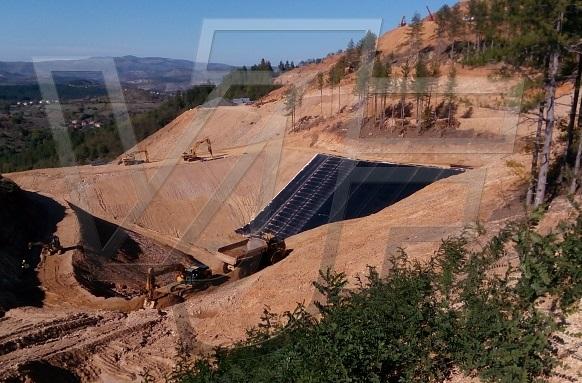 """ВИ ДЖИ ЕФ Инженеринг положи изолационна система при златното находище """"Хан Крум"""" до Крумовград"""