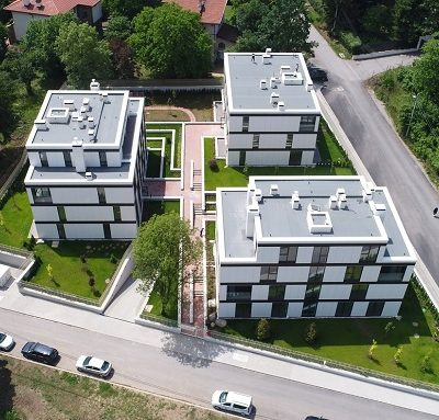 "Waterproofing Solutions in ""Boyana"" Residential Complex by VJF Engineering"